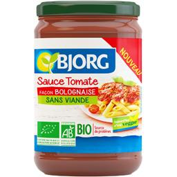 Sauce tomate façon bolognaise BIO sans viande