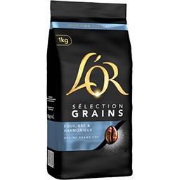 Maison du Café L'Or Café en grains Selection Grains le paquet de 1 kg
