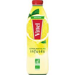 Boisson citron menthe BIO infusés