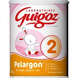 Lait en poudre Pelargon 2, de 6 mois jusqu'à 1 an