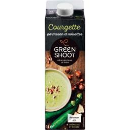 Soupe courgette parmesan & noisettes