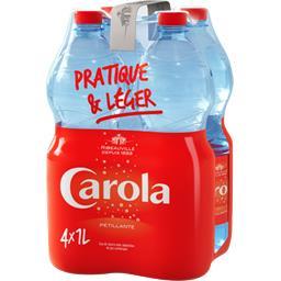 Carola Eau pétillante les 4 bouteilles de 1 l