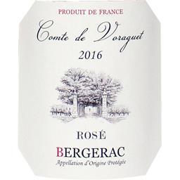 Bergerac vin rosé, 2016