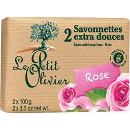 Savonnettes extra douces rose