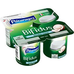 Lait fermenté Bifidus saveur noix de coco