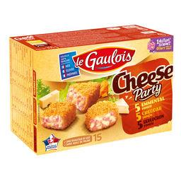 Cheese Party emmental, reblochon et cheddar