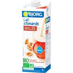 Bjorg Boisson lait d'amande grillée BIO