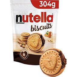 Biscuits fourré pâte à tartiner
