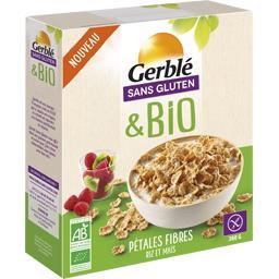 Sans Gluten & BIO - Pétales fibres riz et maïs BIO