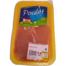 Escalopes de poulet