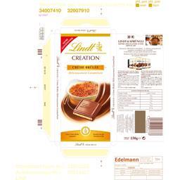 Création - Chocolat au lait crème brûlée
