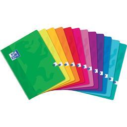 Cahier agrafé 240x320 90 g seyès coloris assortis
