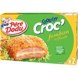 Crousty Croc' jambon de dinde