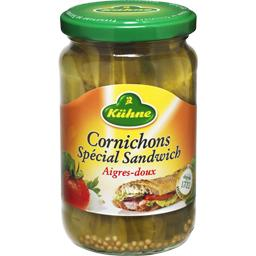 Cornichons spécial sandwich aigres-doux
