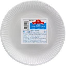 Assiettes en carton D23cm