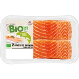Notre Sélection Pavés de saumon BIO la barquette de 2 - 250 g