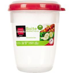 Boite hermétique ronde rose 0,55 L