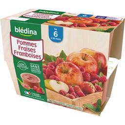 Desserts pommes fraises framboises, de 6 à 36 mois