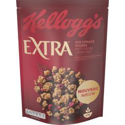 Kellogg's Extra - Céréales pépites fruits rouges
