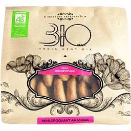 310 Bio Mini croquant amande bio Le sachet de 150 gr