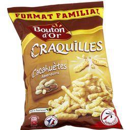 Biscuits apéritif Craquilles cacahuètes