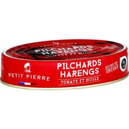 Pilchards harengs tomate et huile