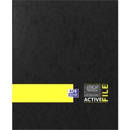 Oxford Classeur Activelife dos 40 A4 4 anneaux coloris asso...