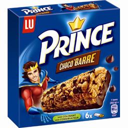 Prince - Barre céréalière Choco'Barre au chocolat