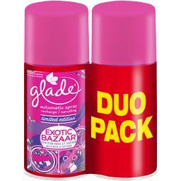 Glade Automatic Spray - Recharge désodorisant Exotic Bazaa... les 2 recharges de 269 ml -