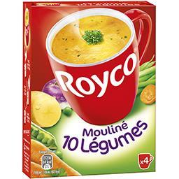 Les Minutes Soup - Mouliné 10 légumes