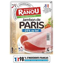 Jambon de Paris sel réduit