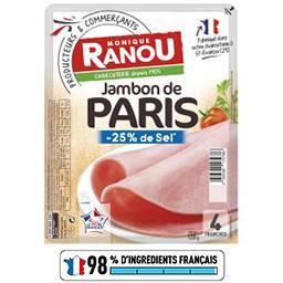 Jambon Mon Paris sel réduit