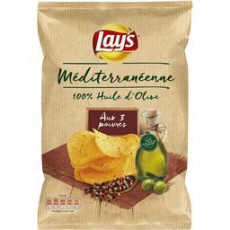 Chips Méditerranéenne 100% huile d'olive aux 3 poivr...