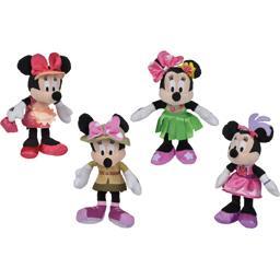 Peluche Minnie 17 cm coloris assortis