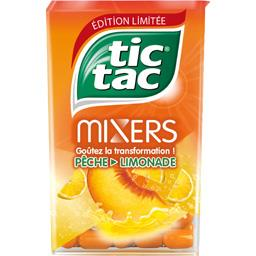 Tic Tac Bonbons Mixers pêche limonade goûts pêche et citron
