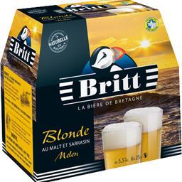 Bière blonde au malt et sarrasin Melen