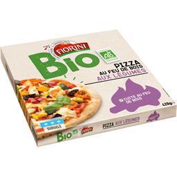 Pizza au feu de bois aux légumes BIO