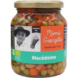 Mémé Georgette Macédoine BIO le pot de 240 g net égoutté