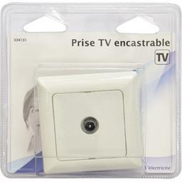 Prise TV encastrable TV