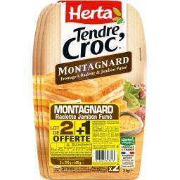 Tendre Croc' - Croque-monsieur Montagnard
