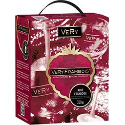 Boisson Very Frambois', rosé framboise