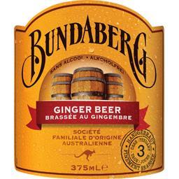 Bière au gingembre sans alcool