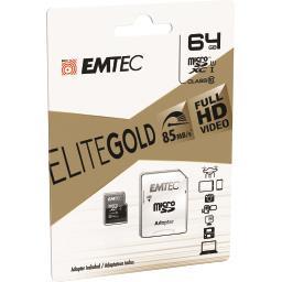 Carte mémoire micro SDXC 64GB UHS1 U1 EliteGold