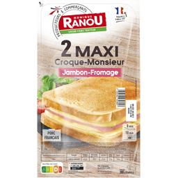 Maxi Croque-monsieur jambon fromage