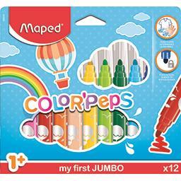 Feutres Color'peps Jumbo