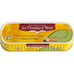 Filets de maquereaux préparés à la main à la marinad...