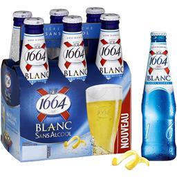 Bière Blanc sans alcool
