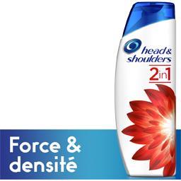 Force et densité 2 en 1 - shampooing antipelliculaire