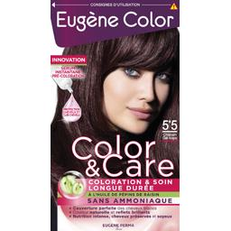 Color & Care - Coloration 5,5 Châtain clair acajou
