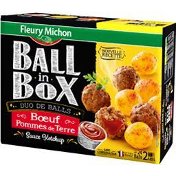 Ball in Box - Duo de Balls bœuf et pommes de terre